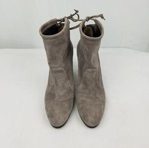 Stuart Weitzman Shoes - Stuart Weitzman Mitten Suede Ankle Boots size 7.5